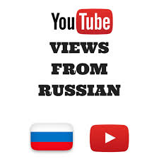 1000 real russian unique YouTube views also monetizable