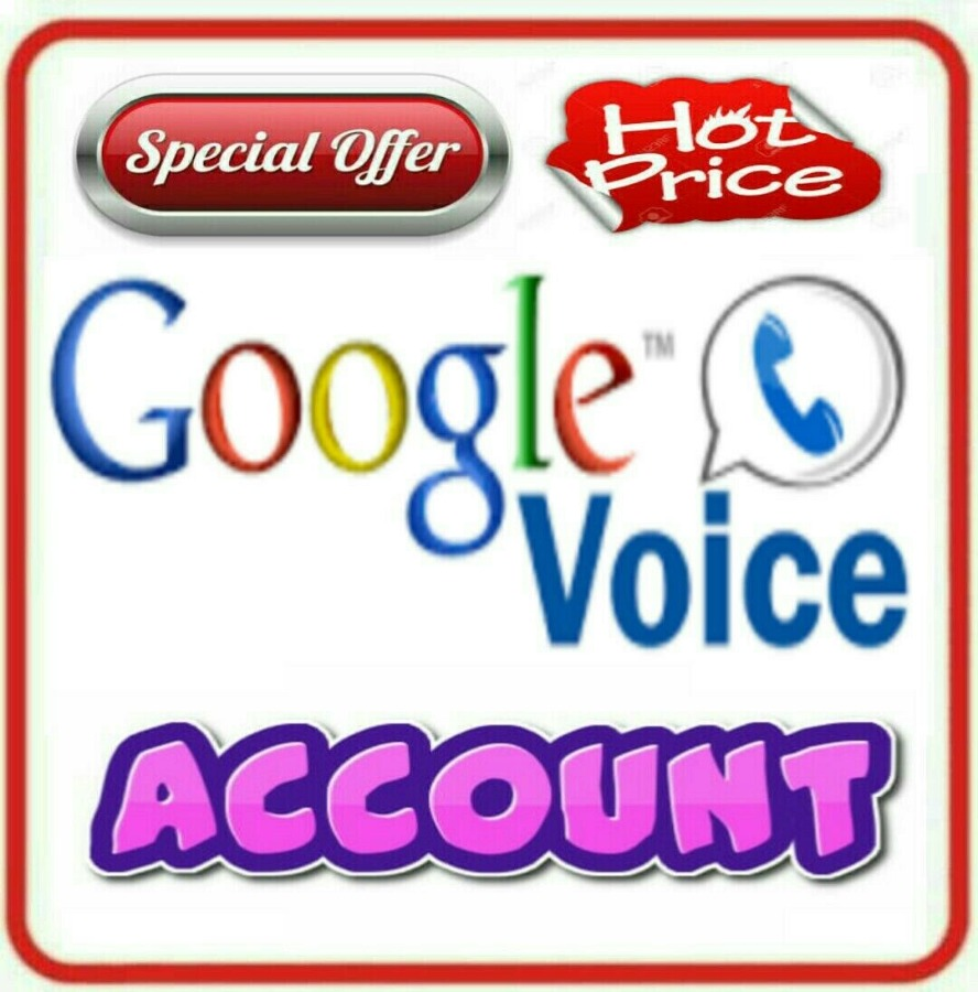 Google Voice USA No Make Receive Calls - Fast Shipping