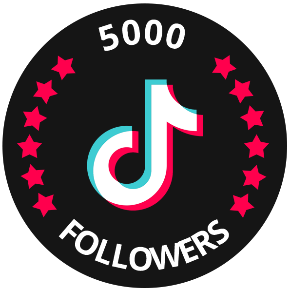 5000 Tiktok Real Followers