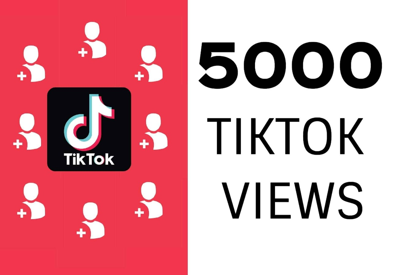 5000 Tiktok Real Views