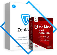 ZenMate VPN + Mcfee Security 1 Year With Warranty