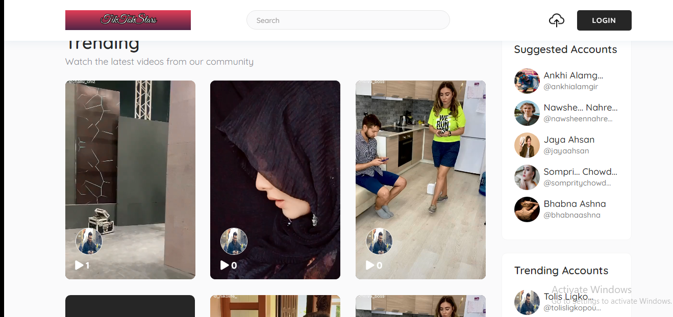 Start your own tiktok Video Sharing website