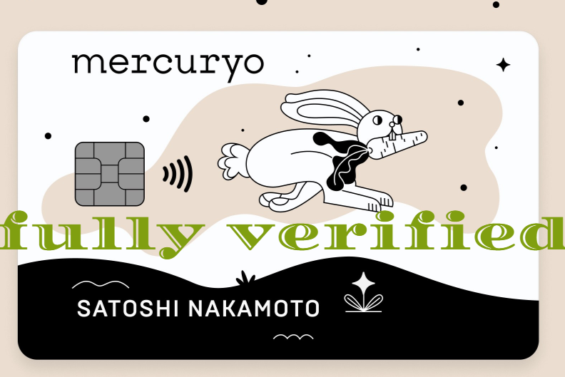 Fully Verified Mercuryo Account