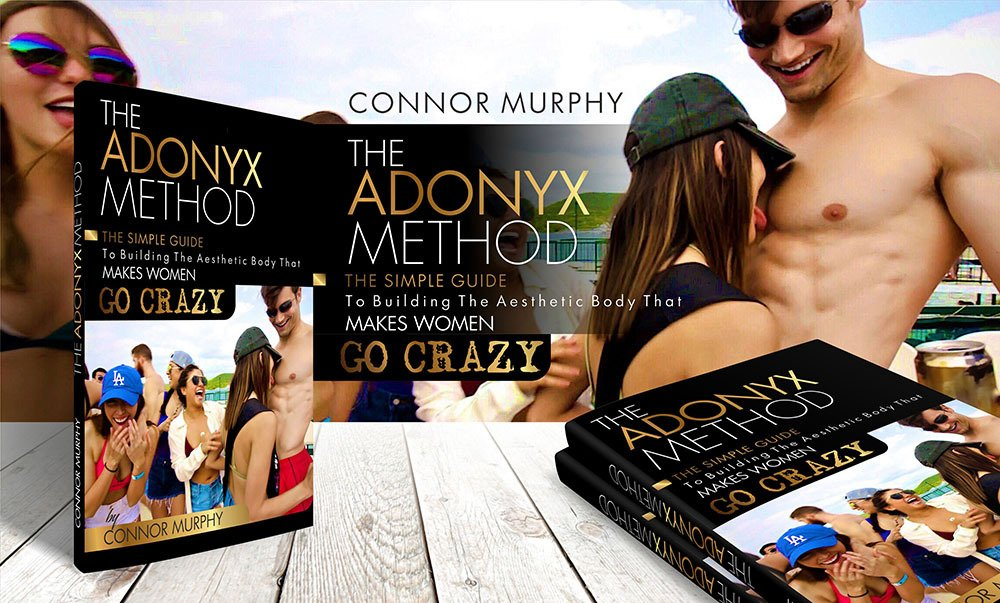 AdonyxMen - God Like Physique - Connor Murphy