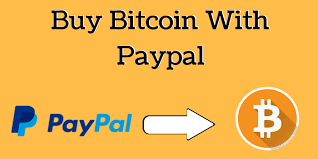 ₿ Bitcoin to PayPal – Pay $480 get $500 USD in P...