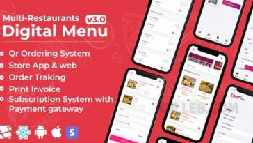 Chef v4.0 - Multi-restaurant Saas -Contact less Digital