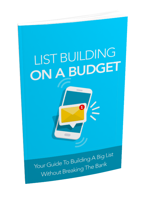 Building An Email List On A Budget