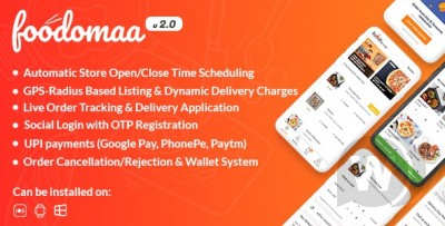 Foodomaa - Multi-restaurant Food Ordering..