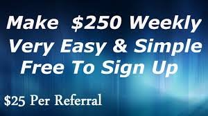 $25 PER REFERRAL (BEGINNER FRIENDLY)