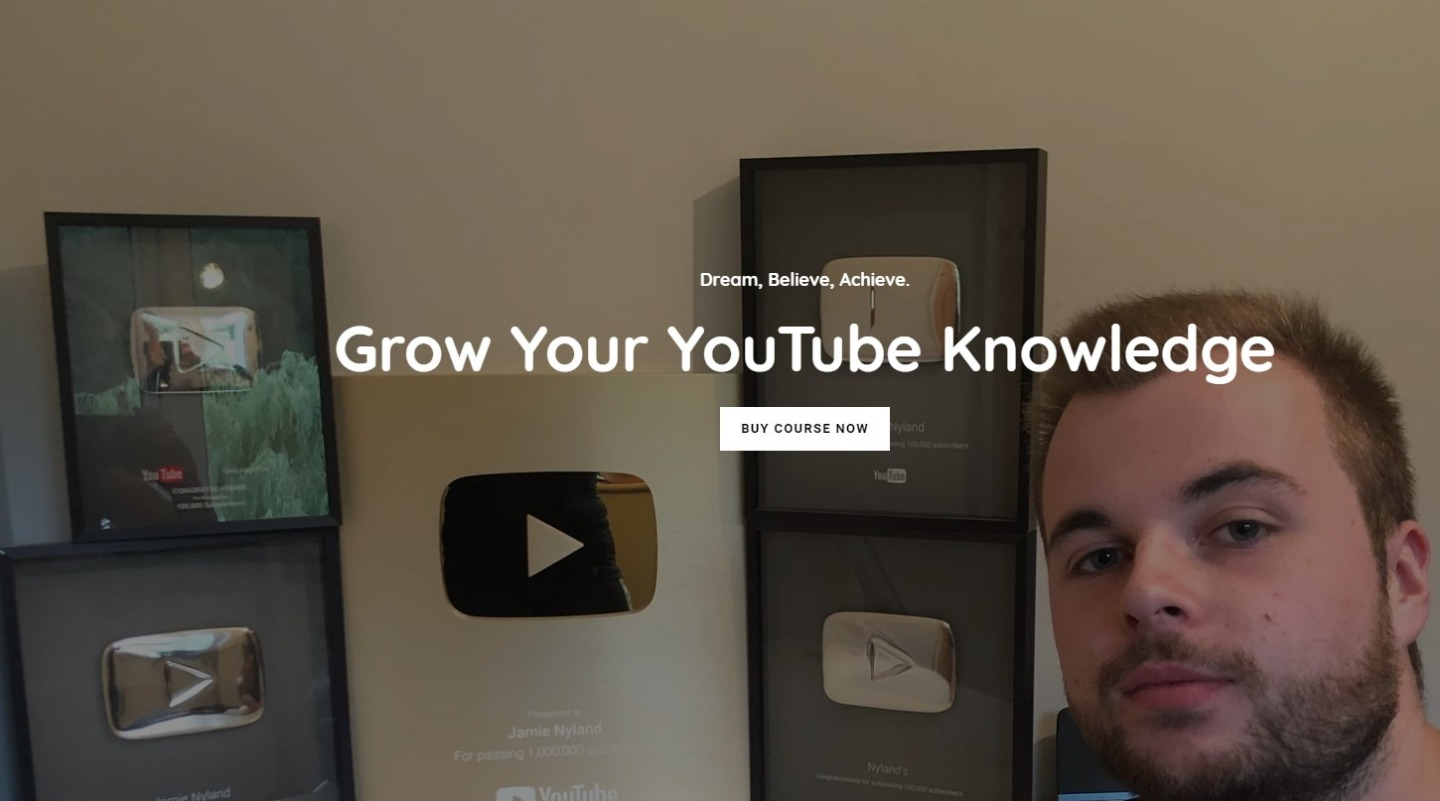 YouTube Course By Jamie Tech - Grow Your YT Channel