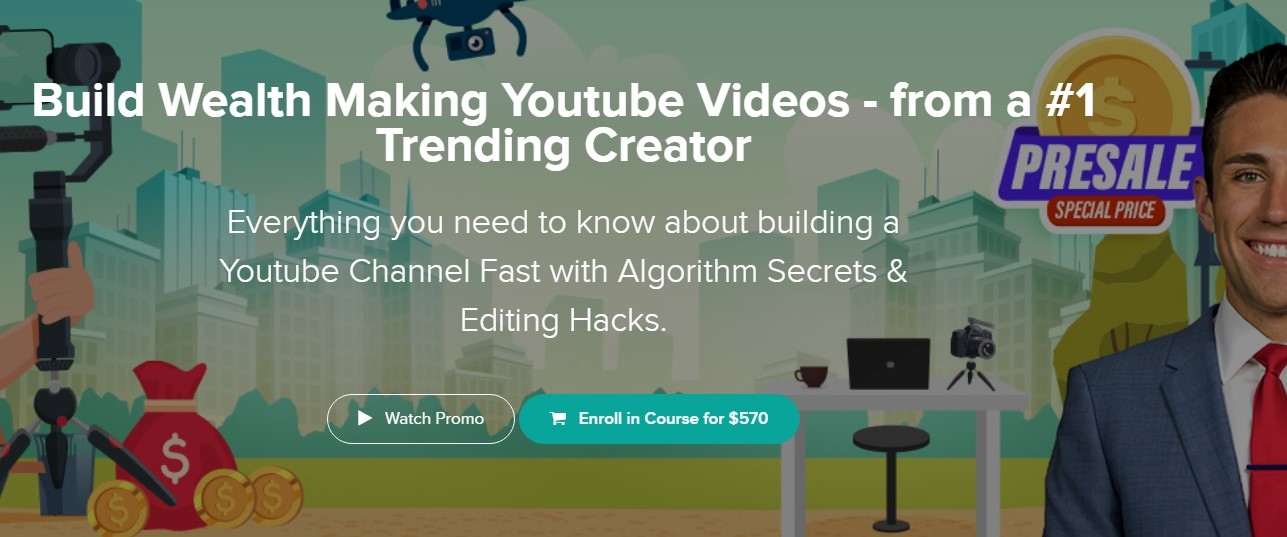 Build Wealth Making Youtube Videos - Meet Kevin [$570]