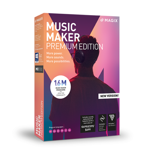 MAGIX Music Maker 16 Premium
