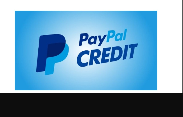 PayPal credit with $5000 available Credit line