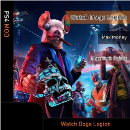 Watch Dog:Legion (PS4 Mod)