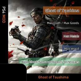Ghost of Tsushima (PS4 Mod)