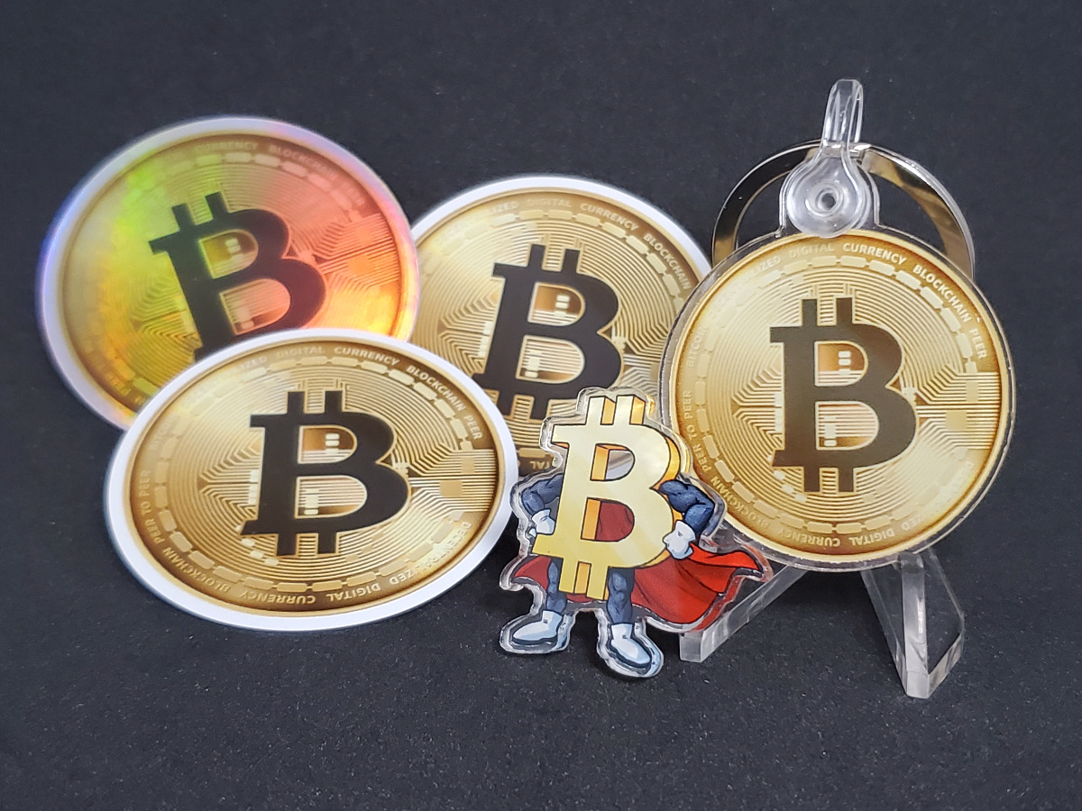 Bitcoin Promo Pack (Stickers, Magnet, Pin & Keyc...