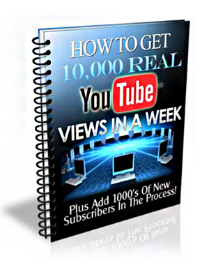 how to get 10000 real youtube views in a week