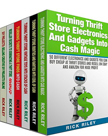 Turning Thrift Store Finds Into Cash 6 book in 1 BoxSet