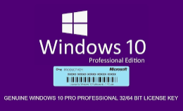windows 10 PRO unlimited products and pc
