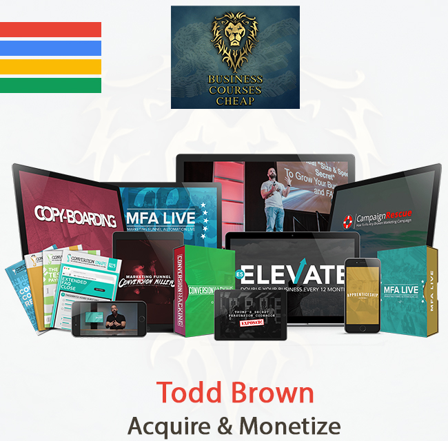 Todd Brown - Acquire & Monetize