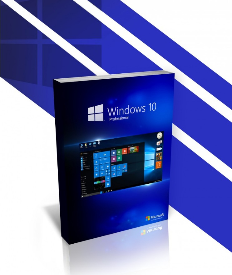MS Windows 10 Professional 32/64 Bit Retail Key Pro