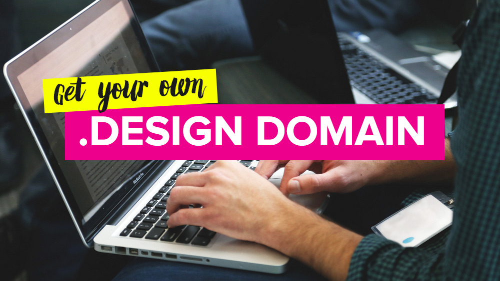 Method to Get A Free .Design Domain With Email Hosting