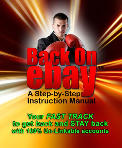 Back on Ebay Step-by-Step Instruction Manual INSTANT