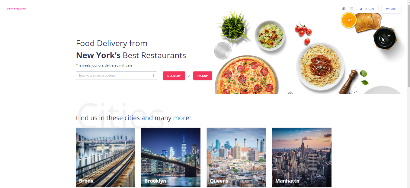 Start your food delivery web with Multiple Restaurants