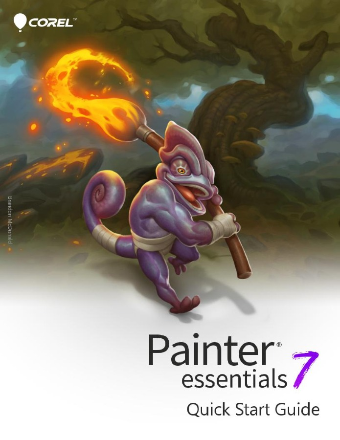 Corel Painter Essentials 7 with the key