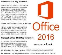 Key microsodt office 2016 activation