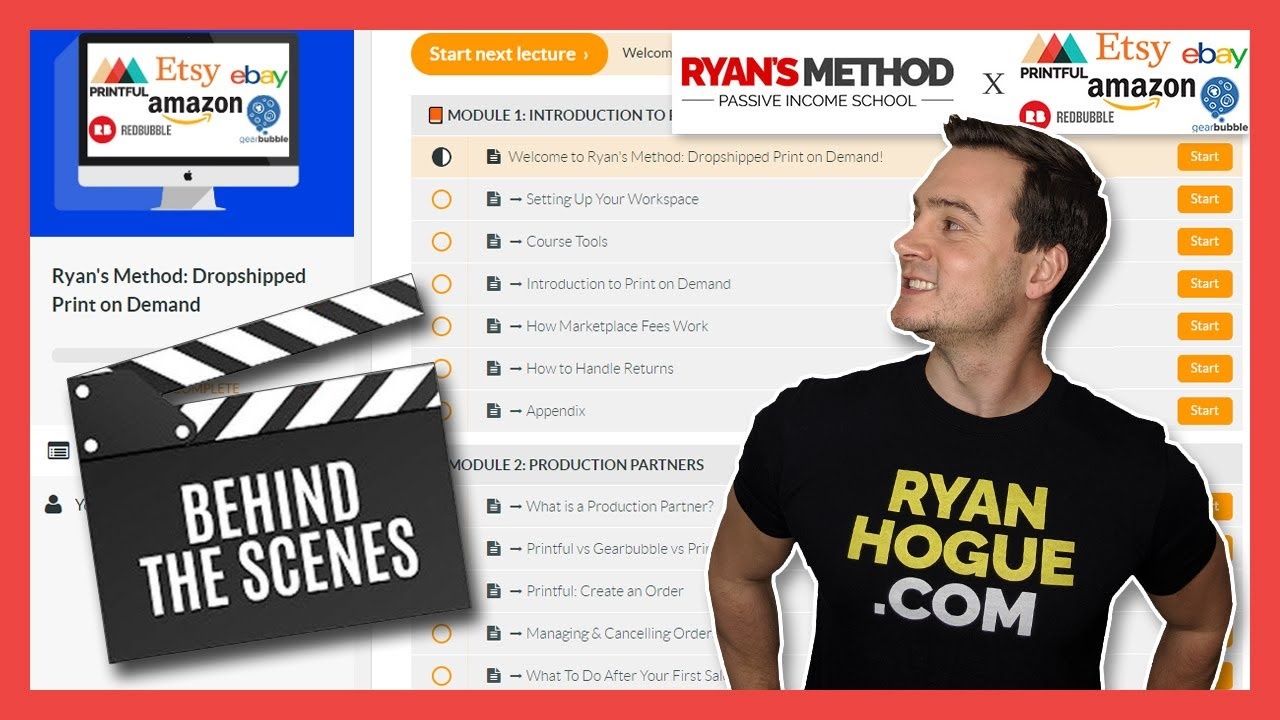 Ryan Hogue – Dropshipped Print On Demand