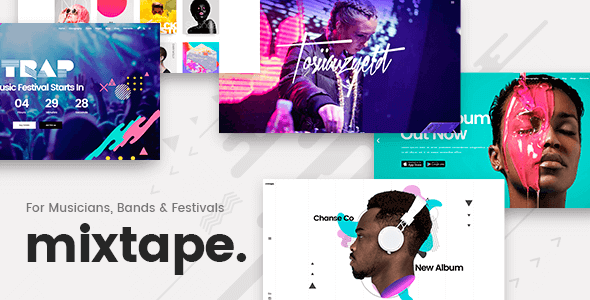 Mixtape – WordPress Music Theme