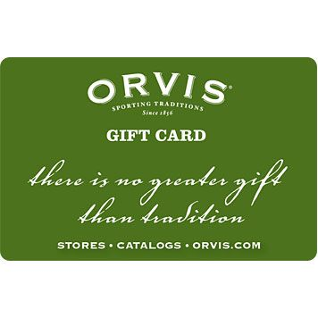 Orvis Gift Cards $200