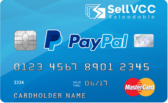 PayPal Vcc - Instant Delivery After Payment