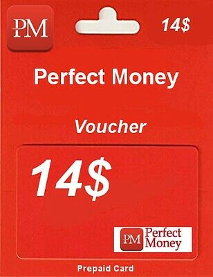PERFECT MONEY Voucher USD 14