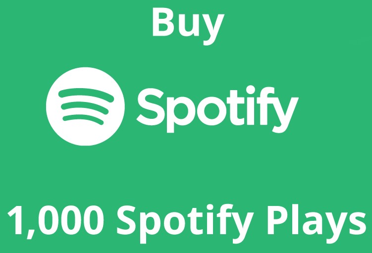 1000 Spotify Album or Playlist Play | Only $9