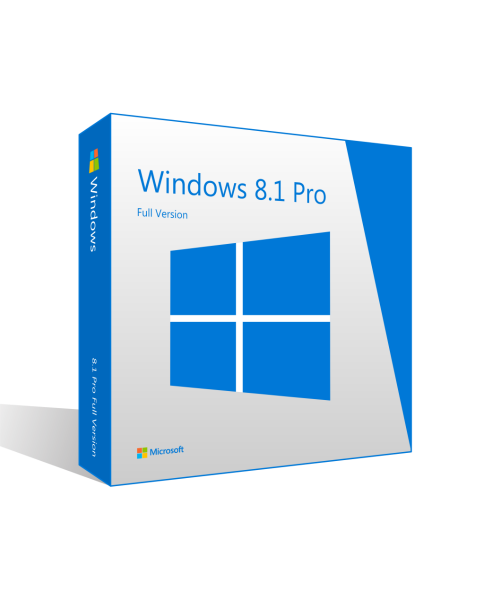 MS Windows 8.1 Professional 32/64 Bit Retail Key Pro