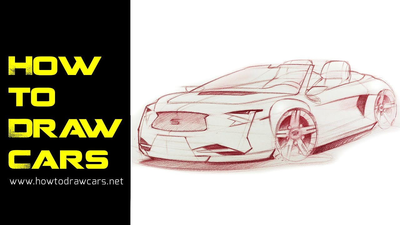 How Drawing of CARS for Beginners