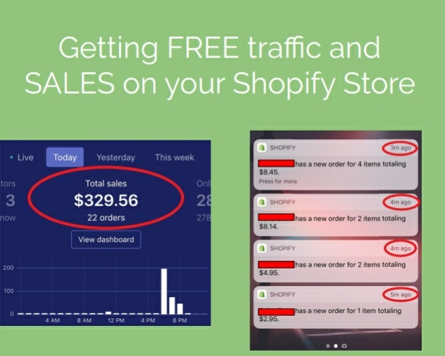 Shopify Auto Sales (GET Sales Without Spending A Dime)