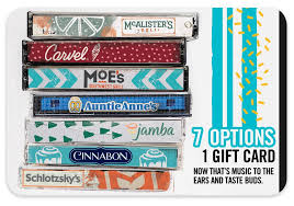 Mix it UP 5x5$ Gift Card Instant