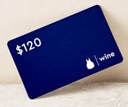 $120 Blue Apron Wine egift card (Instant delivery)