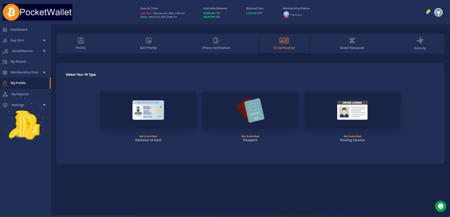 Start Your Own Crypto Wallet Website
