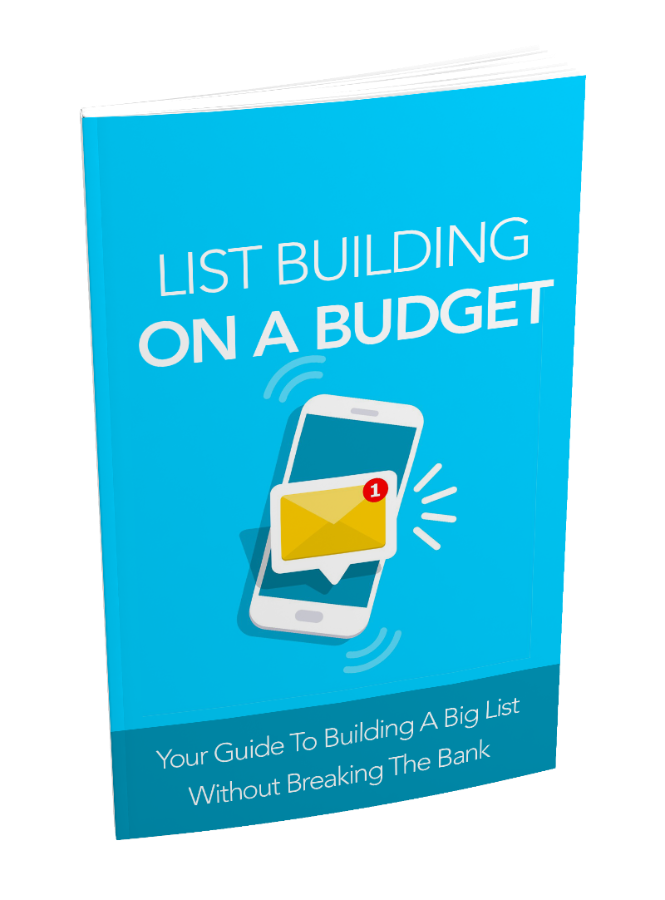List Building On A Budget | Instant Delivery Item