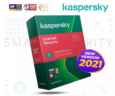 Kaspersky Internet Security 2021 New 1 PC 1 Year