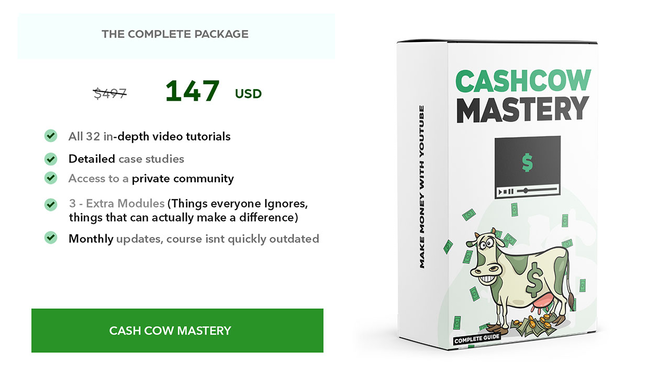 Youtube Cash Cow Mastery