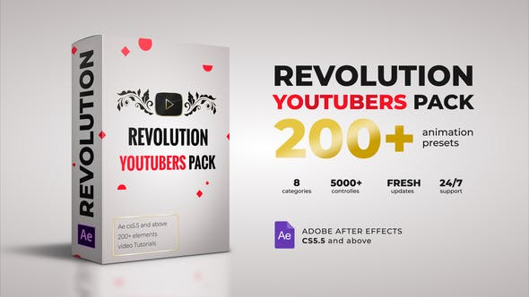 Revolution Youtubers Best Editing Pack