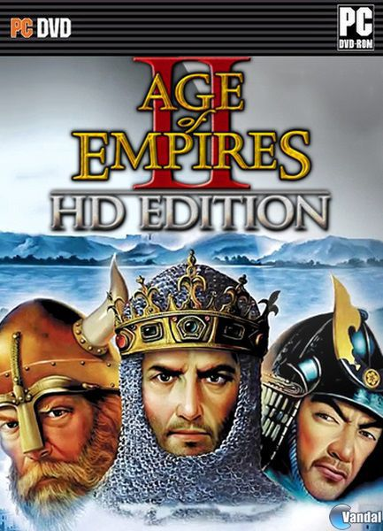 Age of Empires II HD all features and textures 3GB