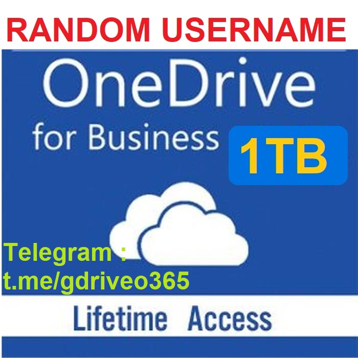 OneDrive 1TB Account - Fast delivery