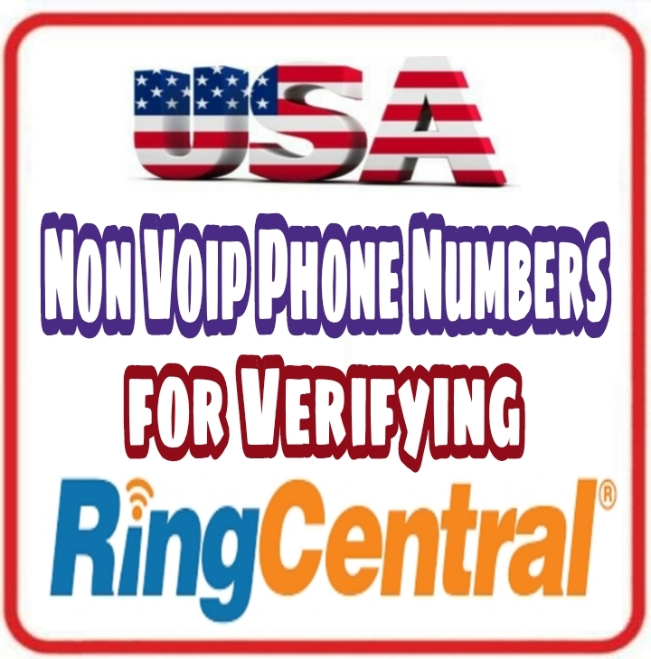 USA Numbers 📞 for Verifying RingCentral by Voice ...