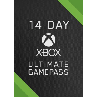Xbox live Game pass ultimate 14 days